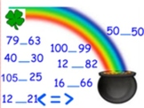 St. Patricks Day Comparing Numbers