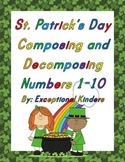 St. Patrick's Day Composing and Decomposing Numbers 1-10