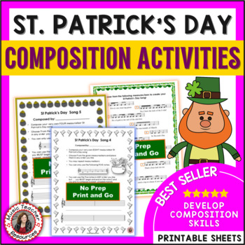 St Patrick's Day Music Composition Activities