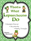 St. Patrick's Day Comprehension, Vocabulary & Reading Strategies