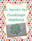 St. Patrick's Day Coordinate Graphing Ordered Pairs