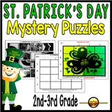 St Patricks Day Coordinate Graphing Picture Activities 2nd
