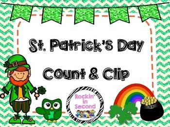 St. Patrick's Day Count & Clip