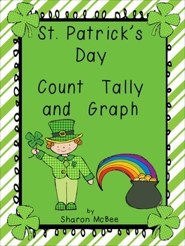 St. Patrick's Day  Count, Tally, Graph Graphing Activity