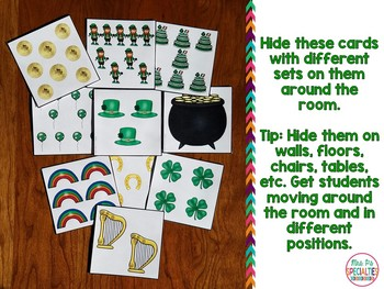 St. Patrick's Day Count The Room {Differentiated with 2 levels}