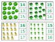 St. Patricks Day Count and Clip 1-20 Math Centers