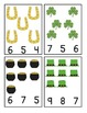 St Patrick's Day Count and Clip Cards