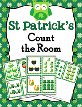 St Patricks Day Count the Room Activity