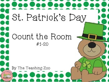 St. Patrick's Day Count the Room{1 to 20}