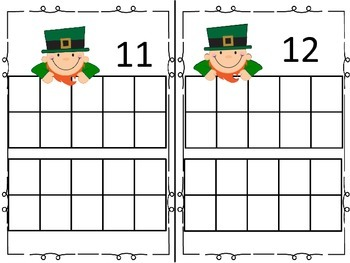 St. Patrick's Day Counting