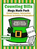 St. Patrick's Day Math Center Games & Printables Money Cou