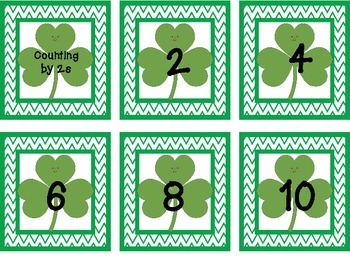 St. Patrick's Day Counting By (2,5,10)