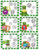 St. Patrick's Day Money Game: Counting Coins -30 Sets of Task Cards, Game Board