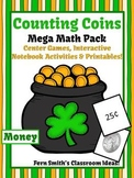 St Patrick's Day Money Counting Coins Center Games Anchor Charts and Printables