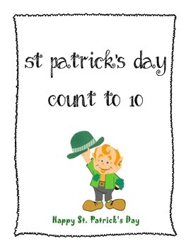 St Patrick's Day Counting FREEBIE