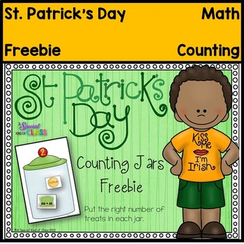 St. Patrick's Day Counting Jars