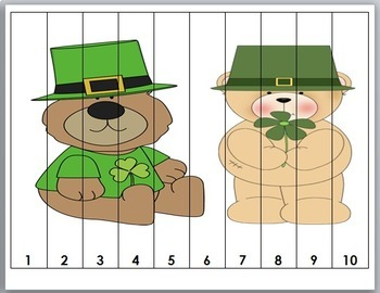 Number Puzzles - St. Patrick's Day Math