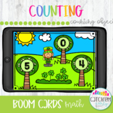 St. Patricks Day Counting with Boom Cards Distance Learning