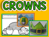 St. Patrick's Day Craft - Crowns