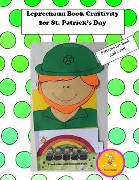 St. Patrick's Day Craft -  Five Little Leprechauns Book Cr