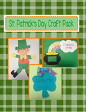 St. Patrick's Day Craft Pack - 3 Craft Bundle