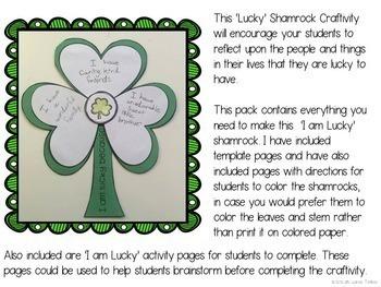 St Patrick's Day Craftivity