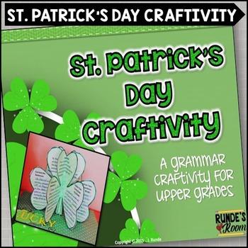 St. Patrick's Day Craftivity - A Grammar Craftivity