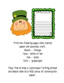 St. Patrick's Day Craftivity - Craft & Writing Prompt