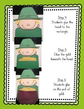 St. Patrick's Day Craftivity (If I Found A Pot Of Gold, I Would...)