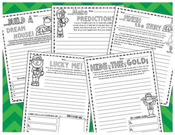 St. Patrick's Day Creative Writing Activities (Teach a Leprechaun to...)