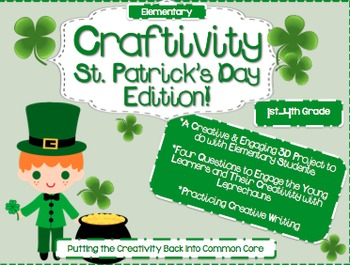 St. Patrick's Day Creative Writing { Craftivity}