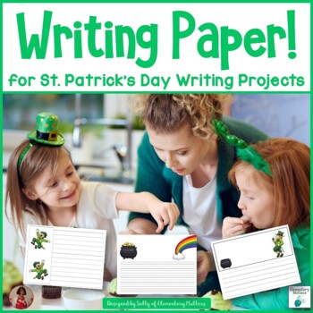 St. Patrick's Day Creative Writing Paper