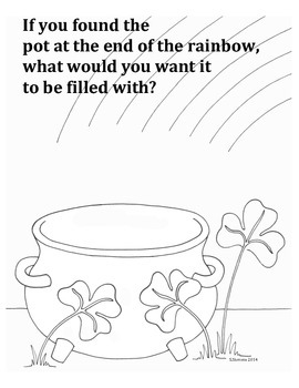 St. Patrick's Day Creativity Doodle Exercise