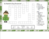 St. Patrick's Day Crossword Puzzle for Smart Board