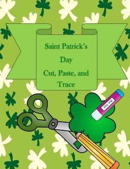 St. Patrick's Day Cut, Paste, and Trace