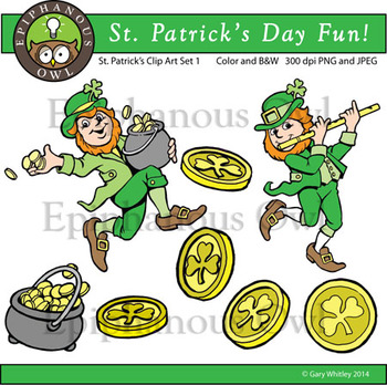 St. Patrick's Day Cute Clip Art