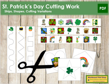 St. Patrick's Day Cutting Strips