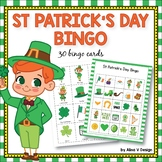 St Patricks Day Bingo Game - St Patricks Day Activities fo