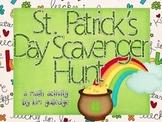 St. Patrick's Day Decimal Rounding Scavenger Hunt - 5.NBT.4