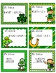 St. Patrick's Day Decimal Task Cards