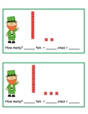 St. Patrick's Day Decomposing Teen Numbers