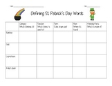 St. Patrick's Day Defining and Flow Map