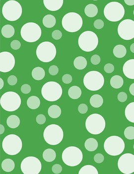 St. Patrick's Day Designs A4 digital paper background