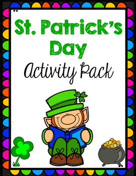 St Patricks Day Differentiated Activity Pack