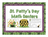 St. Patrick's Day Differentiated Math Centers