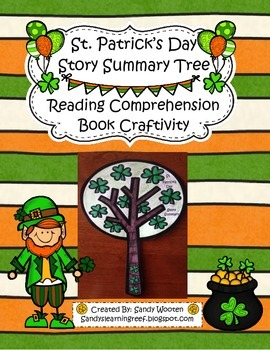 St. Patrick's Day Differentiated Story Summary Tree Craftivity!