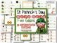 St. Patrick's Day Differentiated Word Work Stations-20 Stations, Editable
