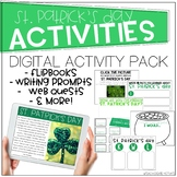 Distance Learning St. Patricks Day Digital Activities