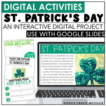 St. Patricks Day Digital Activities