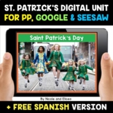 St Patricks Day Digital Activities for Google and Seesaw -